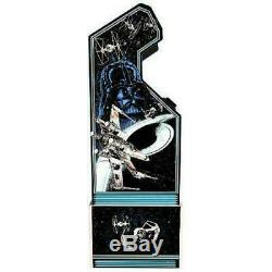 Star Wars Retro Arcade1UP Home Cabinet Machine with Custom Riser Light Up Marquee