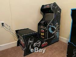 Star Wars Retro Arcade Game Home Cabinet Machine With Cushioned Chair Seat Games
