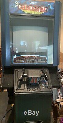 Star Wars Return Of The Jedi Arcade Video Machine Rotj