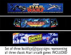 Star Wars Trilogy CUSTOM Mini bartop ARCADE GAME machine CABINET MAME ATARI NES