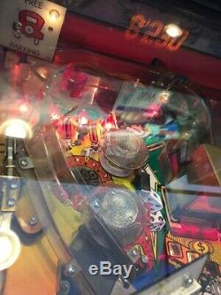 Stern Monopoly pinball machine Fun Playing Arcade Game