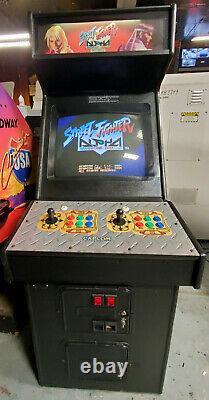 Street Fighter Alpha Warrior's Dreams Full Sizer Fighting Arcade Game Machine