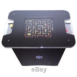Stylish Black / chrome Arcade Machine 60 Games Free Shipping 2 Yr Waranty