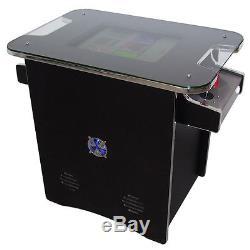Stylish Retro Table Arcade Machine 60 Games Free Shipping 2 Yr Warranty