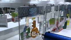 Super Mini KeyMaster Amusement Coin Op Prize Machine witho Bill Acceptor Crane Alt