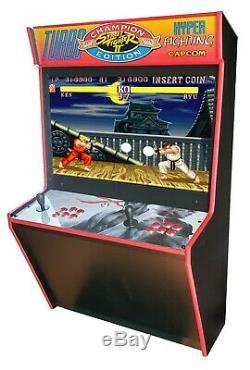 Super Street Fighter II Arcade Cabinet Machine +2000 Arcade Games
