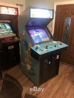 THE SIMPSONS 4 Player Arcade Game Machine Refurbished