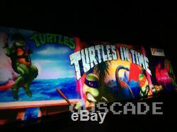 TMNT ARCADE Teenage Mutant Ninja Turtles Turtles In Time multi machine Guscade