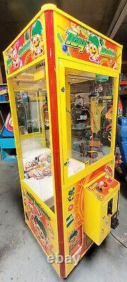 TOY SOLDIER Claw Crane Prize Redemption Full Size Arcade Machine WORKING