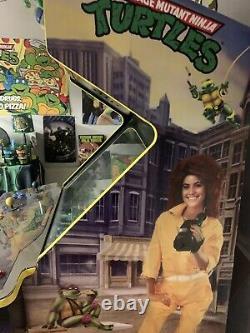 Teenage Mutant Ninja Turtles 1989 Arcade machine TMNT 1989 arcade