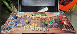 Teenage Mutant Ninja Turtles 4 Player Arcade Video Game Machine 27 LCD! CLASSIC
