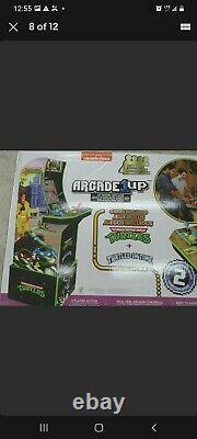 Teenage Mutant Ninja Turtles Arcade 1Up Cabinet Machine w Riser Brand New in Box
