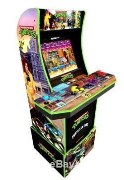 Teenage Mutant Ninja Turtles Arcade Machine with Riser, Arcade1UP Retro Exclusive