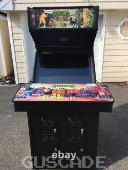 Teenage Mutant Ninja Turtles Arcade NEW Machine TMNT + Turtles In Time Guscade
