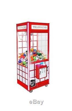 Telephone 33 Prize Crane Claw Machine For Arcade Redemption Machine with DBA