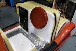 The Flintstones Kiddie Coin Operated Ride Arcade Machine! Yabba Dabba Do