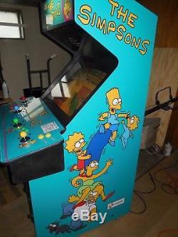 The Simpsons arcade game machine