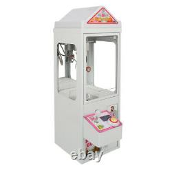 Toy Claw Machine Carnival Crane Game Mini Arcade Grabber with LED Lights