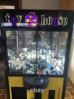 Toy House Skill Claw Crane Machine With Bill Acceptor 31 Wide Standard Size