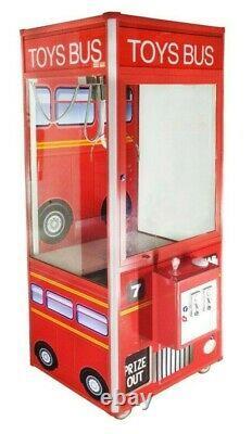 Toys Bus 33 Plush Prize Crane Claw Machine Redemption Machine with DBA