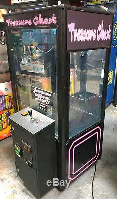 Treasure Chest Short Skill Claw Crane Plush/ Duck/ Candy Arcade Machine C2