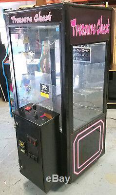 Treasure Chest Short Skill Claw Crane Plush/ Duck/ Candy Arcade Machine C3