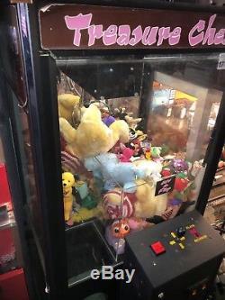 Treasure Crane/Claw Capsule Stuffed Animal Prize Arcade Redemption Machine
