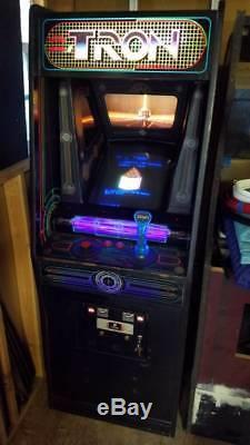 Tron Arcade Game Machine Working