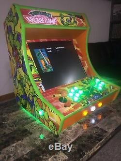 +ULTIMATE Custom Bartop Arcade Cabinet+ Over 10,000 Games! Raspberrypi machine