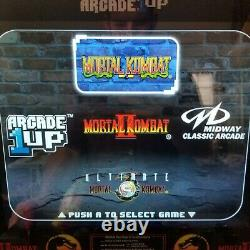 Ultimate Mortal kombat WithRiser 1 2 & 3 arcade machine arcade1up everything works