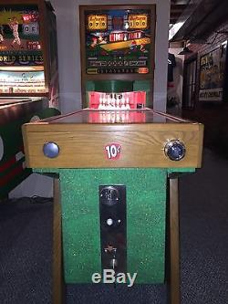 United Manufacturing Midget Alley Bowling Coin Op Machine High Quality Resto