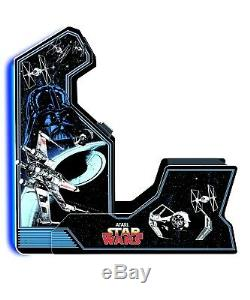 Video Game Star Wars Arcade Machine With Bench Seat, Neon Lights Limited Edition