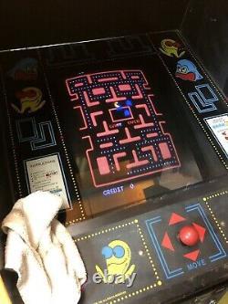 Vintage 1980 Midway Mfg. ORIGINAL PAC-MAN Arcade Machine FREE SHIPPING