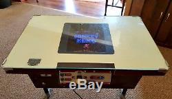 Vintage 1981 Nintendo Donkey Kong Cocktail Table Arcade Machine