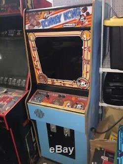 Vintage 1981 Nintendo Original Donkey Kong Arcade Game Machine Working Gaming