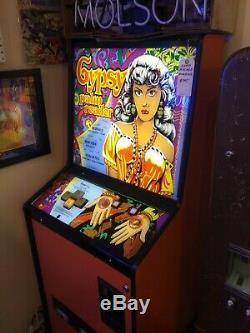 Vintage Gypsy Palm Reader Fortune Teller Coin-op Arcade Machine