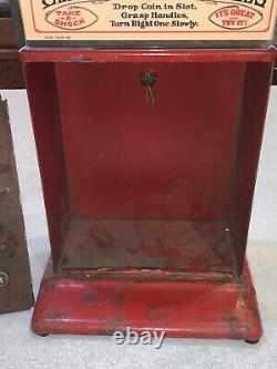 Vintage Mills Novelty Electricity Electric Shock Machine Penny Arcade Coin Op 1c