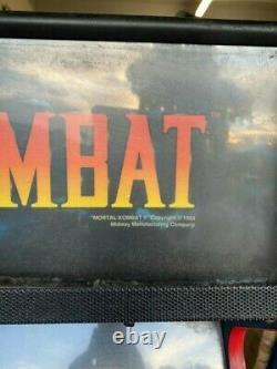Vintage Mortal Kombat 2 II Arcade Machine midway 1993
