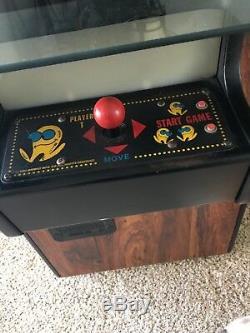 Vintage PAC MAN pizza parlour coin operated arcade machine