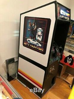 Vintage RESTORED 1983 Bally Midway Spy Hunter Arcade Game Machine Works 100 %