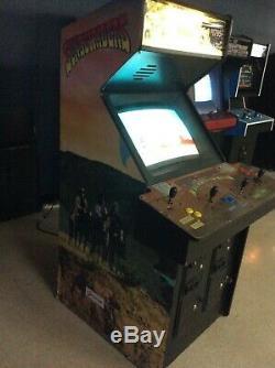 Vintage Sunset Riders Arcade Machine