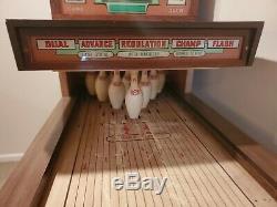 Vintage UMC Bowling Shuffle Alley Machine
