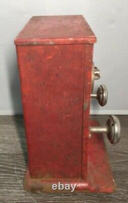 Vtg 1930 Electricity Shock Machine 1c Coin Op Penny Arcade Carnival Shocker