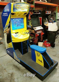 WAVERUNNER GP Jet Ski Arcade Sit Down Driving Arcade Video Game Machine! Driver