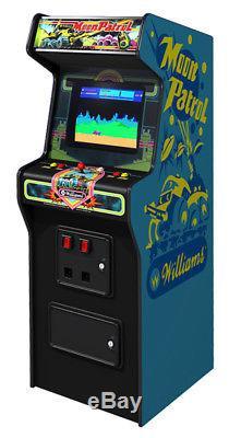 WILLIAMS MOON PATROL ARCADE MACHINE (Excellent Condition) RARE