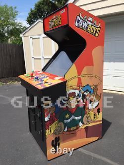 Wild West C. O. W. Boys of Moo Mesa Arcade Machine NEW FULL SIZE COWBOYS GUSCADE