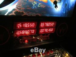 Williams F14 Tomcat PInball Arcade Game Machine Working and Shopped Out