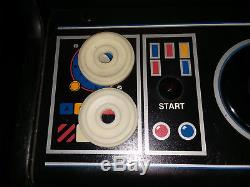 Working Atari BATTLEZONE upright arcade vector XY video game coin-op machine