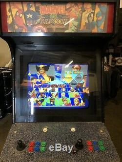 X-MEN Vs. Street Fighter Capcom CPS 2 II Arcade Video Game Jamma Machine