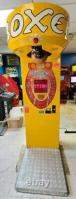 Yellow Boxer Punching Bag Machine Full Size Arcade Game Machine (Magic Play)